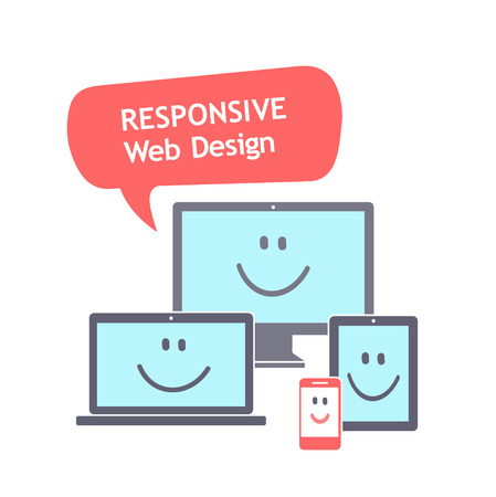 versatile: Responsive web design Illustration