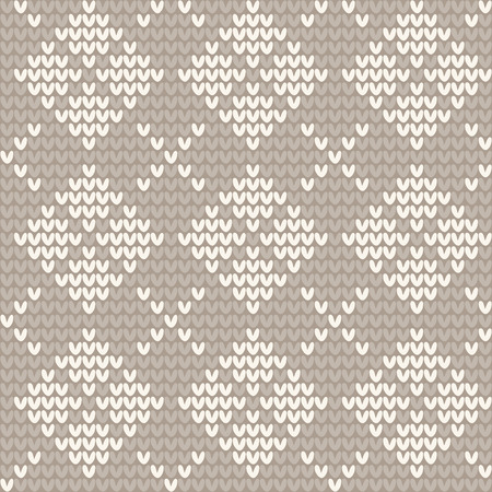 jacquard: Knitted seamless pattern