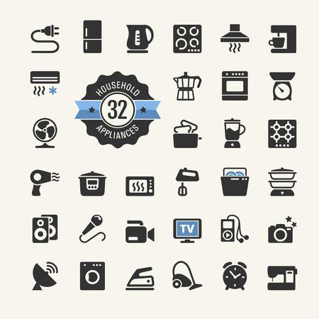 microondas: Web icono colección - electrodomésticos
