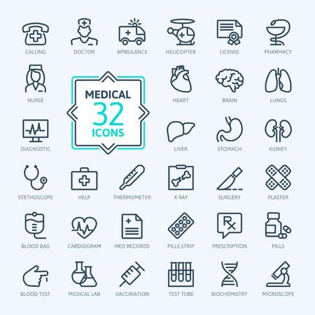 概要 web アイコンを設定 - 医学と健康のシンボル