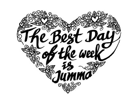 The best day of the week is jumma