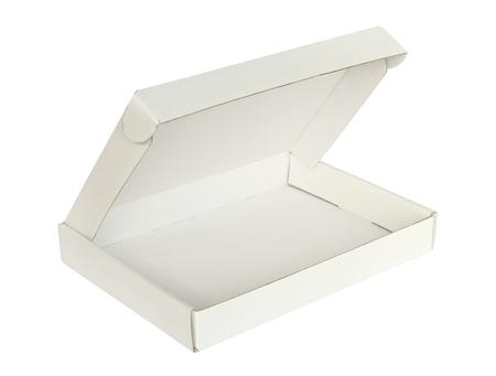 packer: Carton box isolated on white background