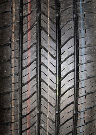 New tire texture background photo