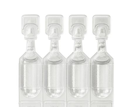 Schmiermittel Fläschchen Augentropfen Standard-Bild - 11648307