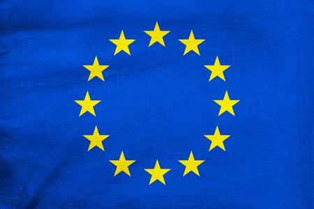 eu flag: European flag Stock Photo
