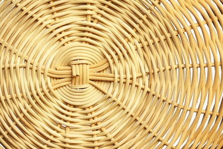 rattan: Bamboo weave texture background Stock Photo
