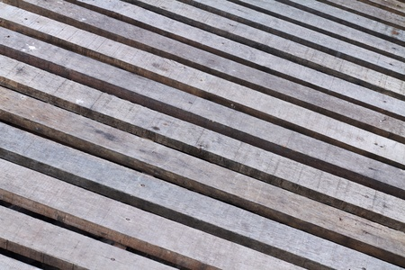 Timber wooden footpath  photo