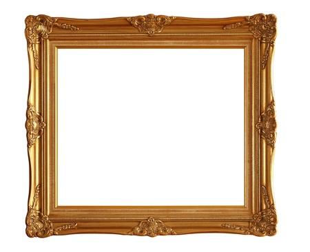 Bilderrahmen isoliert auf weißem Hintergrund Standard-Bild - 12447410