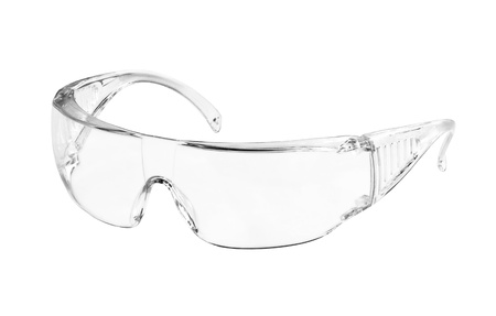 Protective eyeglasses isolated on white background Stock Photo - 13308881