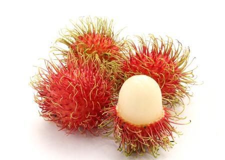 Frische Rambutan süße köstliche Frucht von Thailand Standard-Bild - 13569731