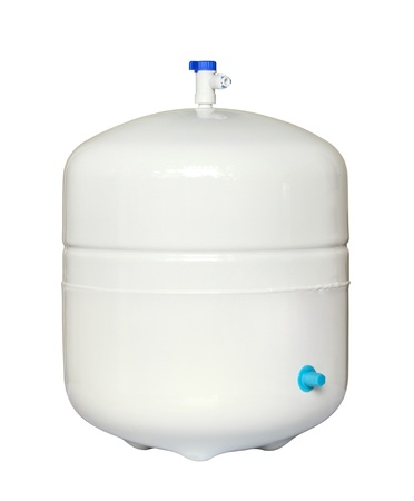 Water storage tank for water filtration RO (reverse osmosis) system Stock Photo - 13980118