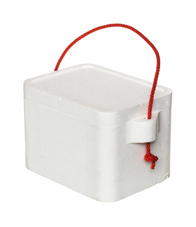 cooler box isolated on white background Stock Photo - 14591149