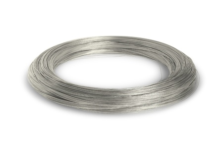 Industry wire isolated on white background