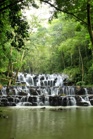 Sam Lan waterfall, Saraburi province, Thailand photo