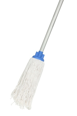 mops: Mop isolated on white background