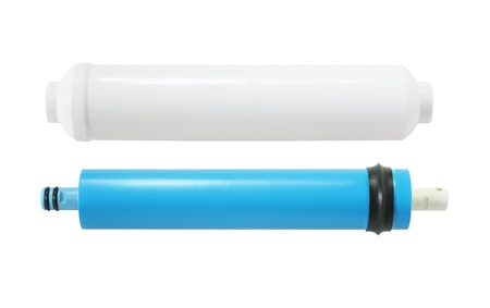 Cartridge for water filtration RO (reverse osmosis) system 스톡 콘텐츠