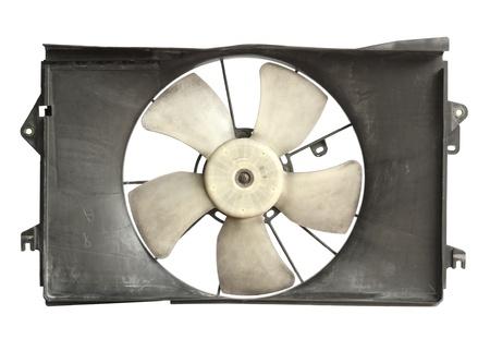 Radiator cooler fan isolated on white background Reklamní fotografie