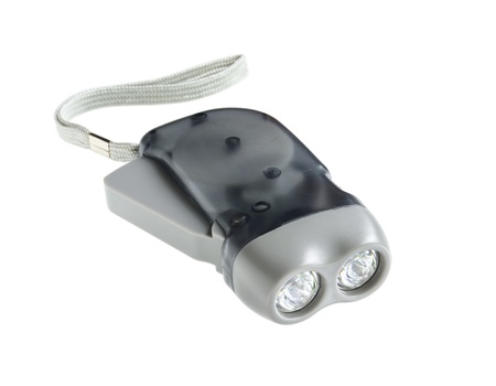 hand crank: Eco Torch (hand crank press powered dynamo LED flashlight)