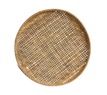 threshing: Threshing basket isolated on white background
