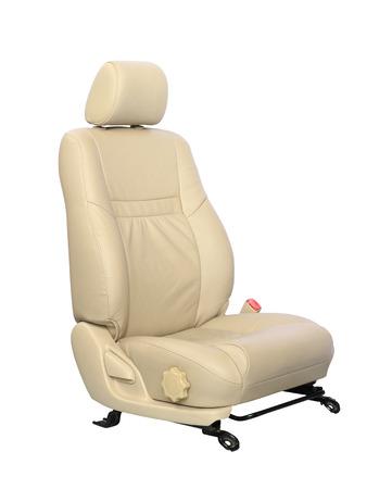 Autositz isoliert auf weißem Hintergrund Standard-Bild - 23081760