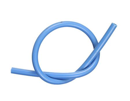 hydraulic hoses: Rubber hose isolated on white background