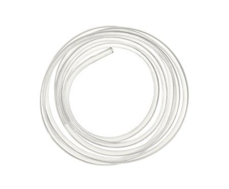 Wasserschlauch isoliert auf weiß Standard-Bild - 23858540