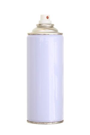 Sprühfarbe kann isoliert auf weiß Standard-Bild - 23858374