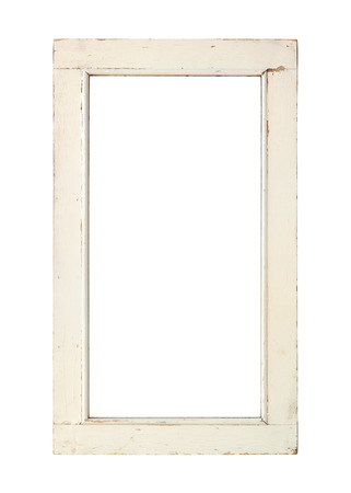 old window frame old window frame with clipping path