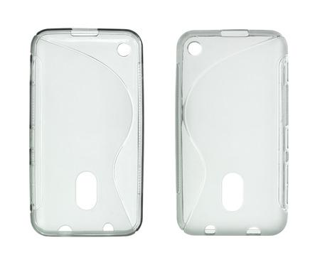 Handy-Tasche (mit Beschneidungspfad) isoliert auf weißem Hintergrund Standard-Bild - 32802490