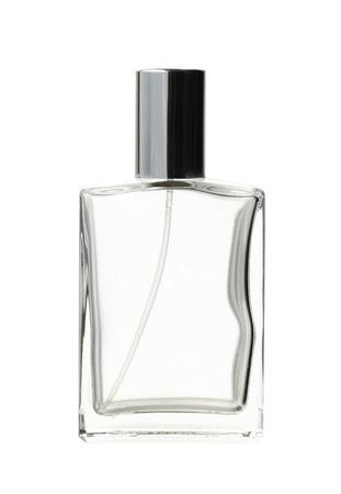 Parfüm-Flasche (mit Beschneidungspfad) isoliert auf weißem Hintergrund Standard-Bild - 33033384