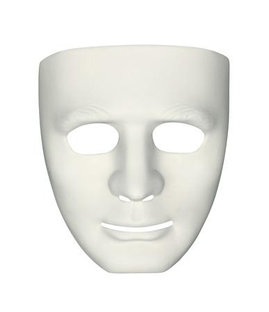 Máscara del carnaval aislada en el fondo blanco Foto de archivo - 40921096