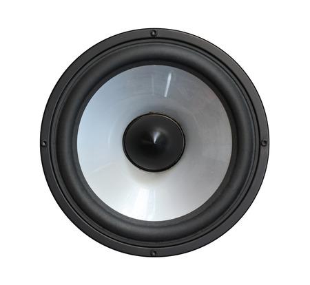 Speaker bass  isolated on white background Reklamní fotografie