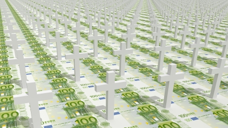 Financial crisis, devaluation of money, economic problems