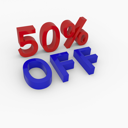 figure in 3d  Discount price red blue