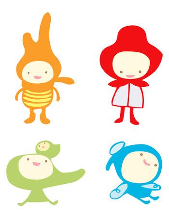 calm down: kids, children caracter design