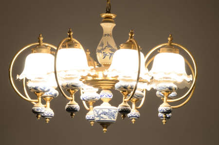 The old chandelier photo