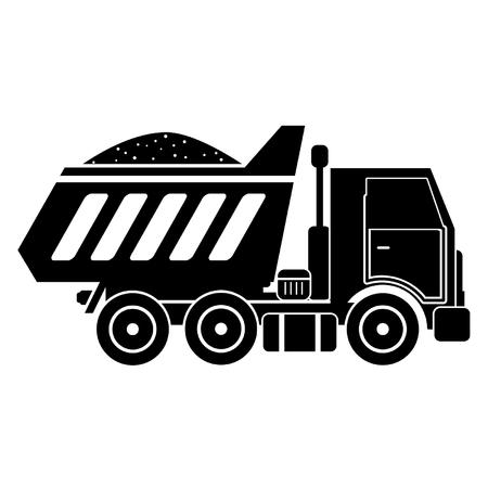 Load truck icon . Ilustrace