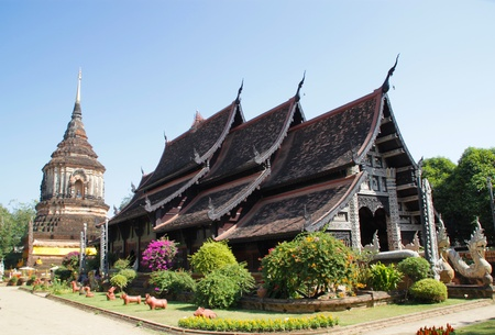 molee: Wat Lok Molee, Chiang Mai, north of Thailand  Stock Photo