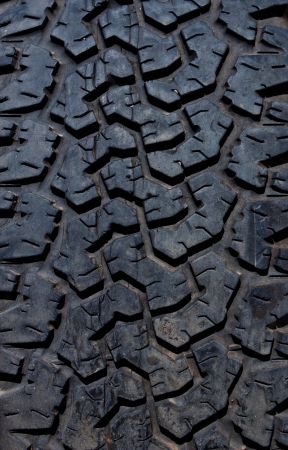 Old tire texture photo