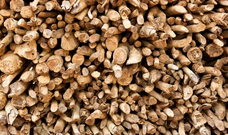 Firewood background photo