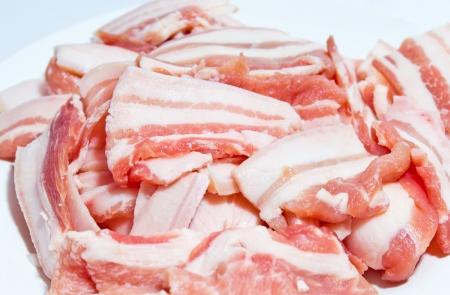 Streaky pork Stock Photo - 18093097