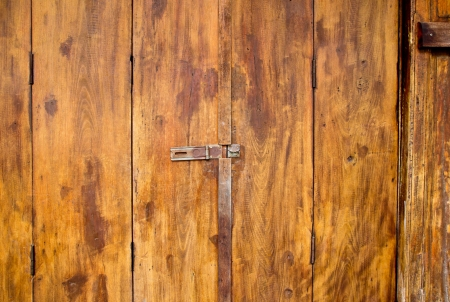 Old wood door background photo