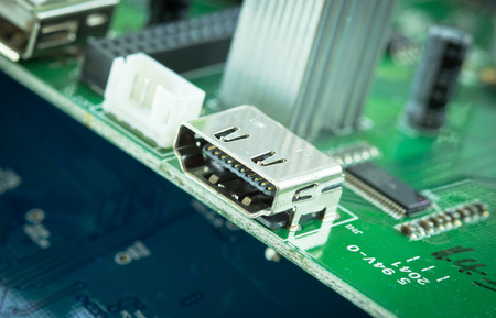 pcb: HDMI out port on pcb circuit board