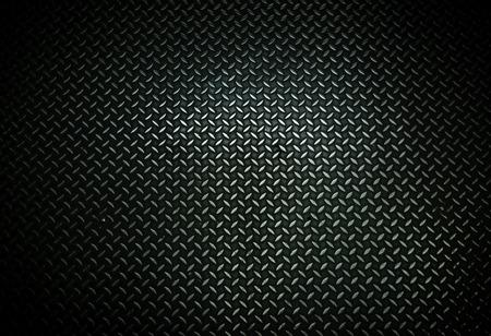 Black metal background, metal floor plate texture
