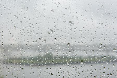 window on a rainy day background