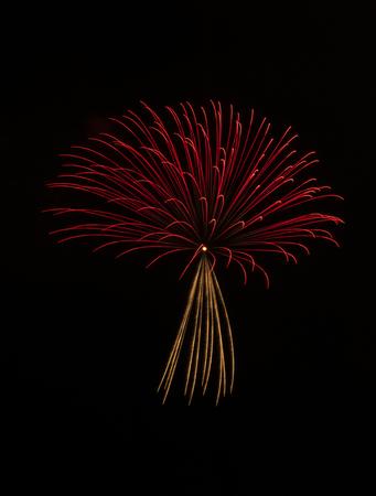 Japanese firework background