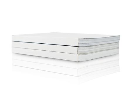 Blank Book on white background Stock Photo - 13177601