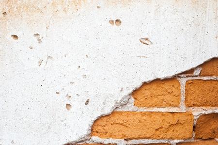 Brick Wall Background and texture Standard-Bild