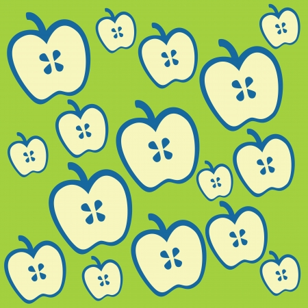 Apple abstract background and pattern photo