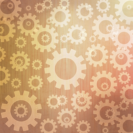 Gears icon background and pattern photo